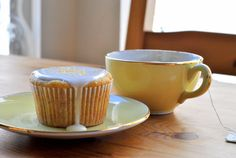 honey chamomile cupcakes
