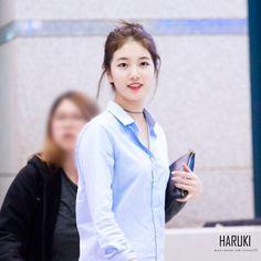151014 인천공항 입국 수지 - 수지 갤러리