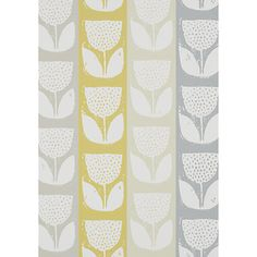 Evie - Sunshine wallpaper, from the Studio Wallpapers collection by Prestigious Textiles Classic Wallpaper, Green Wallpaper, Wallpaper Roll, Pattern Wallpaper, Sunshine Wallpaper, Prestigious Textiles, Paint Effects, Wallpaper Online, Modern Prints