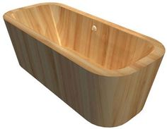 bathware in stone & wood - beautiful, quality, european designed, natural elements bathware Wood Bathtub, Wooden Bathroom, Beautiful Bathrooms, Woodworking, Bathtubs, Storage, Melbourne, Outdoor Decor, House Ideas