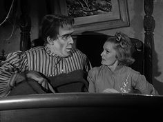 the-munsters-autumn-croakus.  Herman finds himself in bed with Grandpa's betrothed,  Lydia Gardner (Linda Watkins).
