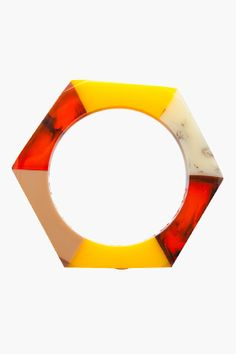 MARC BY MARC JACOBS // COLORBLOCK BOLT BANGLE that i would like to make out of glass