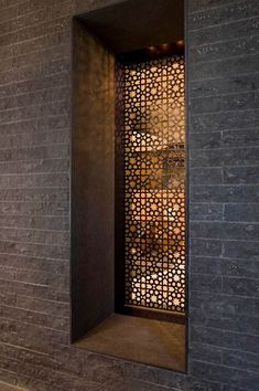 Fancy Privacy Screen Ideas for Your Home Interior Design - Decorate Your Home Islamic Architecture, Architecture Details, Interior Architecture, Laser Cut Screens, Laser Cut Panels, Decorative Screens, Metal Screen, Perforated Metal, Entrance Doors