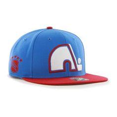 5fea9c38a33483 47 Brand Quebec Nordiques NHL Sure Shot Two Tone Hat Quebec Nordiques,  Stylish Caps,