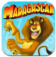 A Madagascar app FREE FOR A LIMITED TIME ONLY!!   Children cruise down slides collecting stars until they reach a balloon character where simple educational questions need to be answered in return for sticker rewards. (Normally $2.99) Lisa M