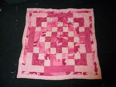 PINK Camo Baby Quilt or Wall hanging!!!!!!