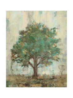 Verdi Trees I Premium Giclee Print by Silvia Vassileva at Art.com