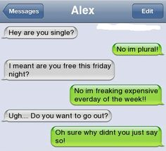 I'm plural - http://funnypicshub.com/im-plural/  Click for more Funny Pictures --> http://www.funnypicshub.com