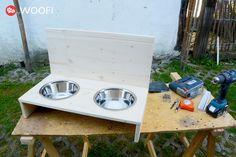 Günstige Futterbar für unter 20€ selber bauen.   my WOOFI Hunde Aktivitäts Monitor