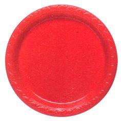 Műanyag tányér 23cm 8db-os szett több színben