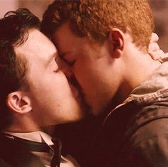 Shameless ... Mickey and Ian ... the belong together <3