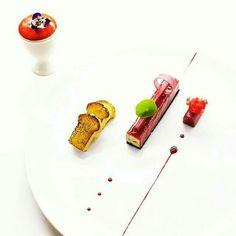 @gregoire.ossiano - - Foie Gras / Rhubarb / Hibiscus - #Ossiano #AtlantisThePalm #Dubai - #foiegras