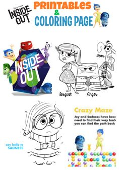 [VIDEO] INSIDE OUT Movie Review, Printables and $25 Gift Card Giveaway ~ MommyTalkShow.com