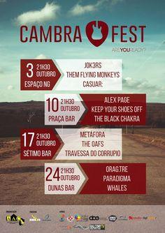 CambraFest > 3 a 24 Outubro 2015 @ Vale de Cambra