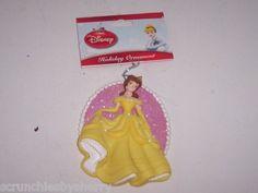 Disney Beauty Beast Princess Belle Christmas Ornament
