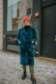 winter outfits new york The Very Best Street Style Looks From New York Fashion Week 2019 Hipster Grunge, Grunge Goth, Soft Grunge, Looks Street Style, Looks Style, My Style, New York Street Style, Funky Style, Autumn Street Style