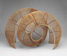 "Tai Gallery - Santa Fe, NM, United States. ""Waves"" by Yomaguchi Ryuun"