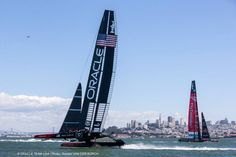 Undoubtedly, the Oracle guys were sailing the boat better than ever and making hardly any mistakes. Mr Spithill was dominating the starts against Dean Barker (his opposite number on the New Zealand boat) and the afterguard of Sir Ben and Tom Slingsby (an Australian Olympic gold-medal winner) had formed an impressive rapport and was calling all the right shots.