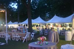 wedding reception, tents, the grove