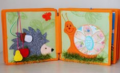 """A quiet book is the first book in the babys life that he/she can """"read"""" independently. It is like a portable collection of funny images and educational activities for children to enjoy. This soft baby book offers hands-on experience in recognizing shapes, buttoning, snapping,"""
