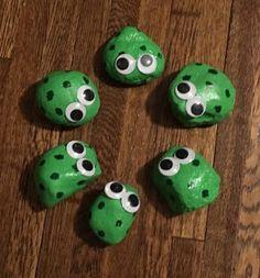 Painted Rock Ideas Googly Eye Frog