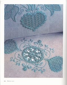Russian needle lace Schwalm Embroidery
