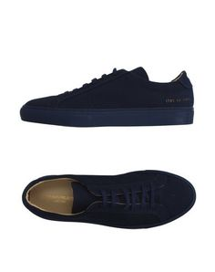 COMMON PROJECTS Low-Tops. #commonprojects #shoes #low-tops
