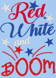 Red, white and BOOM Little Firecracker –...