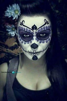 #México #Catrina #AzulMarino