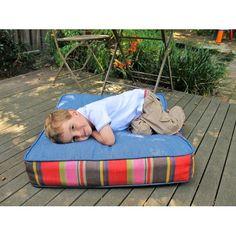 Boxy Organic Floor Cushion   Dojo Ecoshop at The Manchester Futon ...