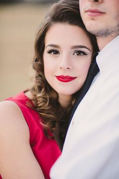 Red lipstick perfection | CJK Visuals | see more on