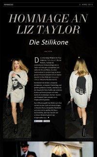 Hommage an Liz Taylor – Die Stilikone | Infamous Magazine