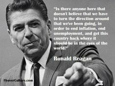 Ronald Reagan and getting back our country. He means the one before the Trump-meister. Greatest Presidents, American Presidents, Us Presidents, 40th President, President Ronald Reagan, Great Quotes, Quotes To Live By, Inspirational Quotes, American Quotes