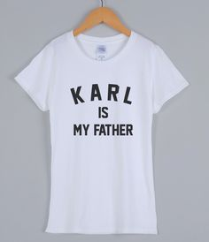 >> Click to Buy << KARL IS MY FATHER fashion funny t shirt for women 2017 summer cotton short sleeve women's T-shirts streetwear hip hop T-shirt #Affiliate
