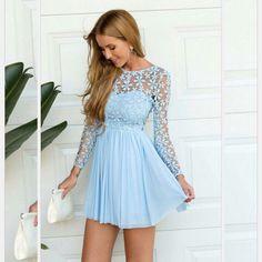[ $24.00 ] Long Sleeve lace dress GNA61GE ZC816F