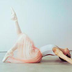 The Italian Tulle Skirt - Rose Coral/White