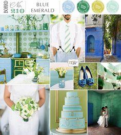 Board #210 - Blue Emerald