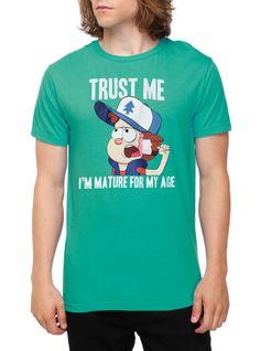 Disney Gravity Falls Mature Dipper T-Shirt