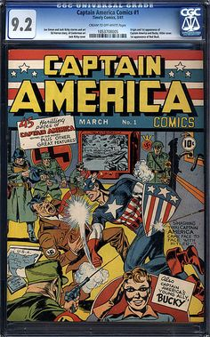 The World's Most Expensive Comic Book Art - Captain America #1