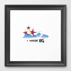 #Dream Framed #Art Print