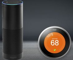 Amazon Echo will soon be compatible with Nest, the darling of the smart home world