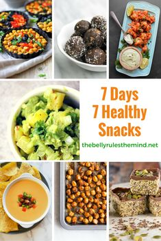 healthy snacks dont have to be boring. Here is a list of lipsmacking, delicious healthy snacks for your next week - http://wp.me/p7oUc4-1EO