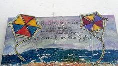"""μικτές τεχνικές ζωγραφικής με ακρυλικά   """"Χαρταετός"""" Kite, Painting Techniques, Canvas, Artwork, Paint Techniques, Tela, Work Of Art, Auguste Rodin Artwork, Dragons"""