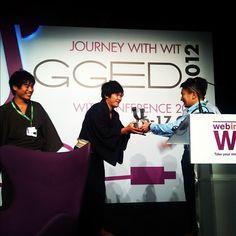 Trippiece wins WITStartup Pitch #wit2012 #witconference2012 #webintravel #itbasia #itbasia2012 #itbasia #marinabaysands #mbs #singapore #onlinetravel #travel #technology #socialmedia #marketing #igsg - @webintravel- #webstagram