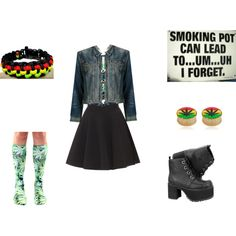 """""""I haven't bin on here in forever #rasta"""" by alainabvb on Polyvore"""