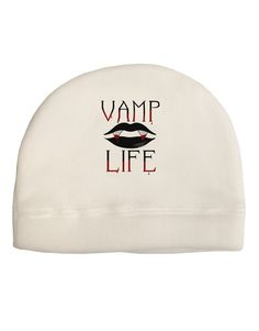 TooLoud Vamp Life Adult Fleece Beanie Cap Hat