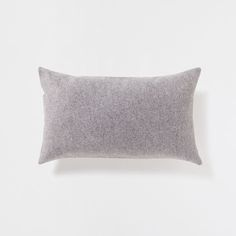 PLAIN LIGHT GRAY FLANNEL CUSHION - Decorative Pillows - Decor and pillows | Zara Home United States