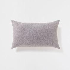 PLAIN LIGHT GREY FLANNEL CUSHION - Cushions - Decoration | Zara Home United Kingdom