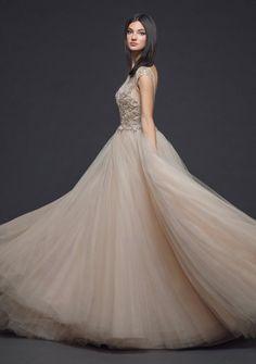 Courtesy of Lazaro wedding dresses from JLM Couture; www.jlmcouture.com/lazaro; Wedding dress idea.