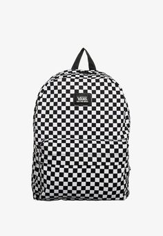 bf671975f0 OLD SKOOL II - Tagesrucksack - black white check   Zalando.ch 🛒. vans old  skool ii checkboard backpack